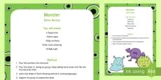 Monster Slime Recipe