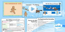 PlanIt Y2 The Gingerbread Man Lesson Pack Storytelling (1)
