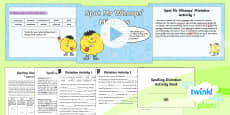 PlanIt Y6 Term 2A Assess and Review Spelling Pack