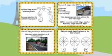 Tour de France KS1 Maths Challenge Cards