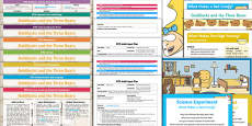 EYFS Goldilocks and the Three Bears Lesson Plan Enhancement Ideas and Resources Pack