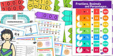 KS3 Maths Decimals Catch Up Resource Pack