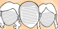 Pautas del contorno de la cara
