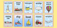 Aistear Transport Posters