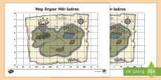 Map Drysor Môr-ladron