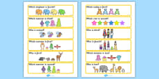 'Who Is...?' Ordinal Number Concept Cards Activity (Set Two)