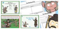 The Monkey King PowerPoint Presentation Teaching Pack