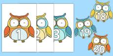 1-20 on Superb Owls