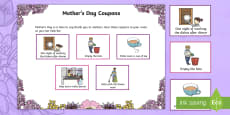 Mother's Day Coupons Activity