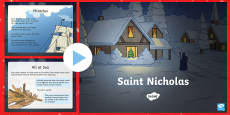 Saint Nicholas Facts PowerPoint