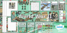 PlanIt - History UKS2 - World War II Additional Resources