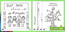 Adult Colouring Mindfulness Back To School Pages