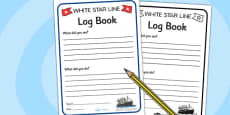 The Titanic Role Play Logbook