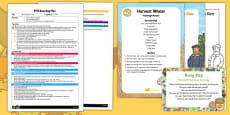 EYFS Harvest Planting Activity Busy Bag Plan and Resource Pack