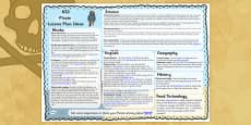 Pirate Lesson Plan Ideas KS2