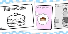 Pat a Cake Story Sequencing A4 (Australia)