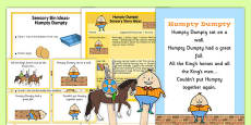 Humpty Dumpty Sensory Resource Pack