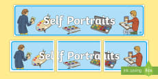 Australia - Self Portraits Display Banner