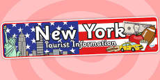 New York Tourist Information Office Role Play Banner