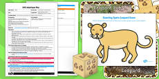 Leopard Spots Counting Game EYFS Adult Input Plan and Resource Pack