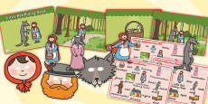 Little Red Riding Hood Story Sack Resource Pack