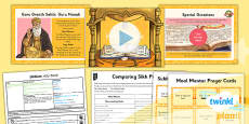 PlanIt - RE Year 3 - Sikhism Lesson 5: Holy Book Lesson Pack