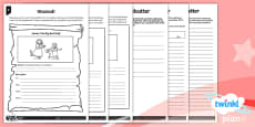 PlanIt Y1 Traditional Tales: Little Red Riding Hood Home Learning Tasks