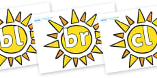Initial Letter Blends on Sun