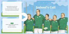Ireland's Call Song PowerPoint