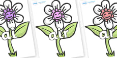 Phase 3 Phonemes on Flowers