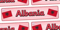 Albania Display Banner