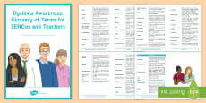 Dyslexia in Children Glossary of Terms Adult Guidance