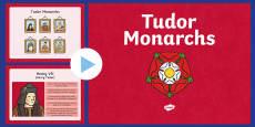 The Tudors Monarchs PowerPoint
