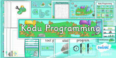 Computing: Kodu Programming Year 6 Unit Additional Resources