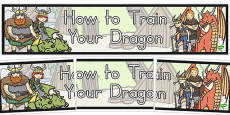Australia - How to Train Your Dragon Display Banner