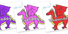 Days of the Week on Dragons