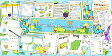 Resource Pack to Support Teaching on The Crunching Munching Caterpillar