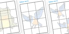 Story Shadow Colouring Sheets to Support Teaching on Handa's Hen