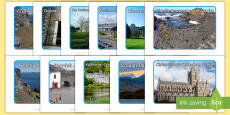 Tourist Attractions in Ireland Photo Pack