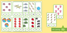 Number Recognition To 10 Peg Activity