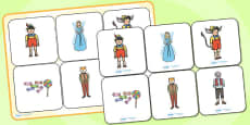 Pinocchio Matching Cards and Board