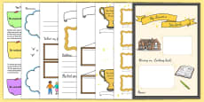 Leavers Yearbook Template Pack