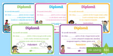 Limba română Diplome