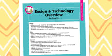 2014 Curriculum KS1 Design and Technology Overview