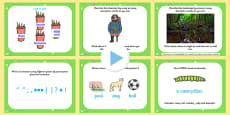 Literacy Morning Work Activities PowerPoint