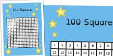 100 Square Dyslexia