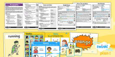 PlanIt - EAL Intervention - Basic Skills: Nouns and Verbs Resource Pack