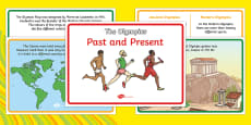 The Olympics Past And Present Posters