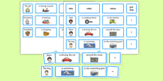 Everyday Sentence Building Cards EAL