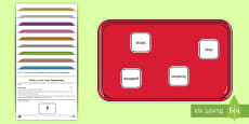 * NEW * What's on the Tray? Phase 6 Memory Activity Pack